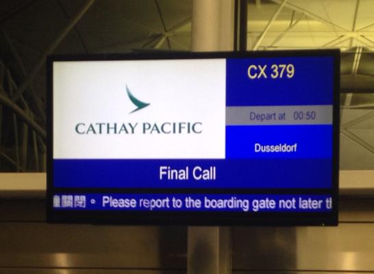 Final call.