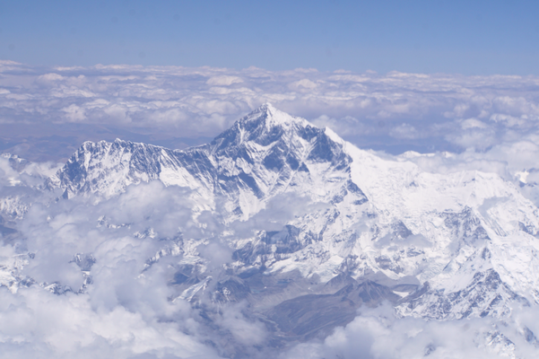Mount Everest und Lhotse