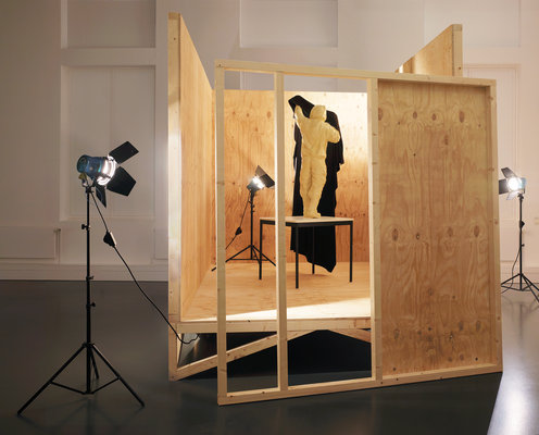 Anarchist | Installation | 2009 cast | plywood | Spots | 300 x 340 x 470 cm | 118 x 133.85 x 185 in.