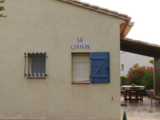 Bienvenue au CIGALOU, vous passerez un séjour agréable