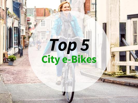 Die besten City e-Bikes 2019