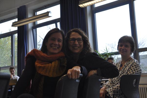 Schullesung mit Amy Giles und Ulrike Metzger