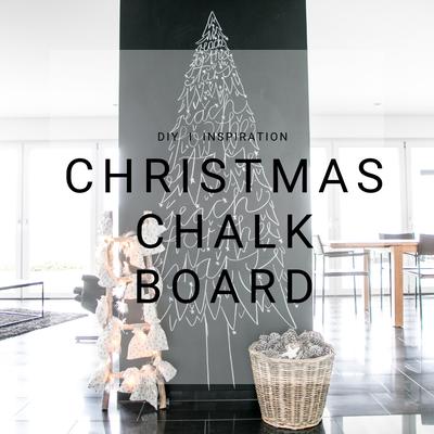 Christmas, Chalkboard, Weihnachten, Tannenbaum, Inspiration, DIY, Kreidetafel