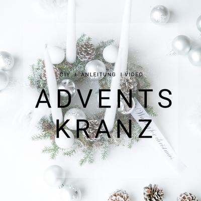 DIY, Adventskranz, schnell, selber machen, einfach, Anleitung, mit Video, Kreativ Blog Schweiz