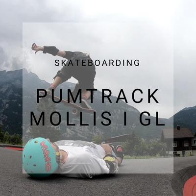 Pumptrack Glarus, Mollis, Skateboarding, Pumpking Challenge