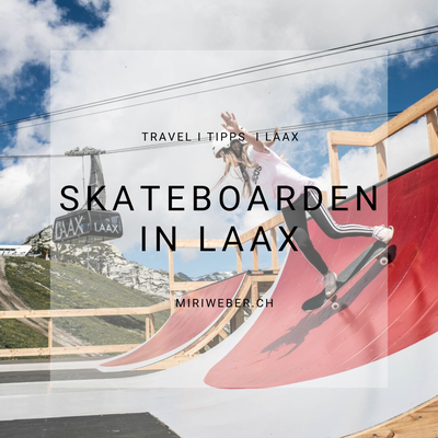 Skateboarden in Flims, Laax, Crap Sogn Gion, Freestyle