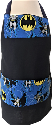 Tablier de cuisine noir Batman Enfant