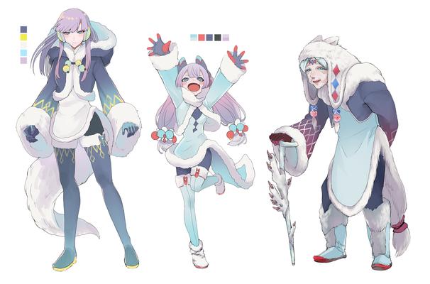 極寒の民キャラクターデザイン(オリジナル)