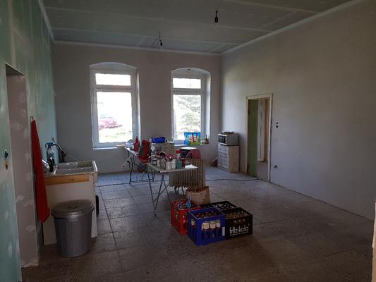 ...flure und die Küche waren im Fokus.