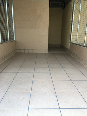 Tiling completed and our block is ready to be opened.