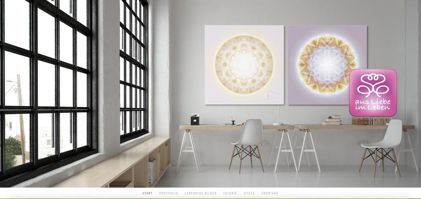 Lebendige Kristallbilder für ein Office © Susanne Barth. Freie Arbeit. Foto von Moose https://photos.icons8.com. Mehr Inspirationen www.aus-liebe-im-leben.de