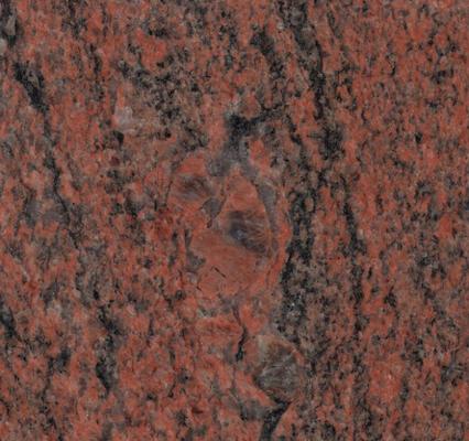 Granit Multicolor rot geflammt