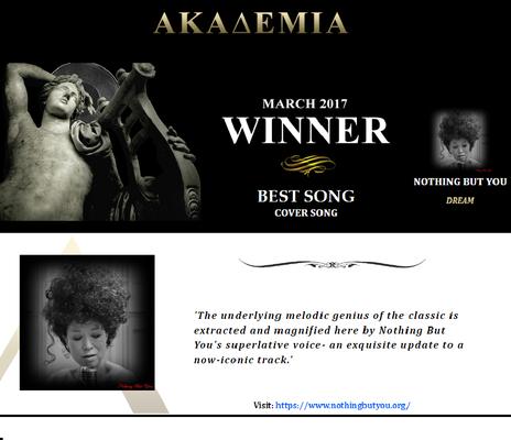 Akademia Music Award Winner