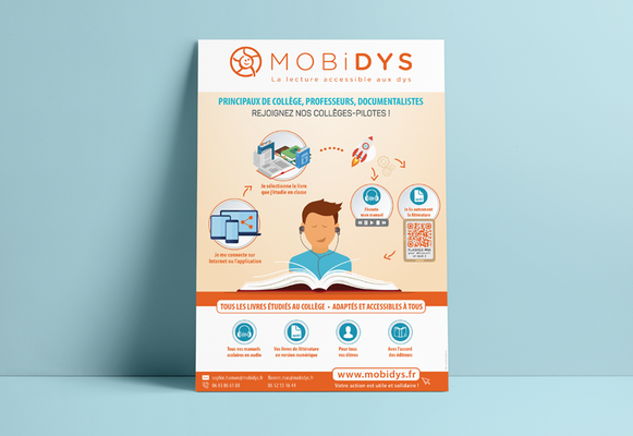 MOBIDYS • Affiche - France
