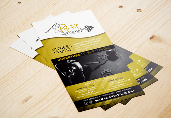 PÔLE FIT' STUDIO • Flyer - Pornichet