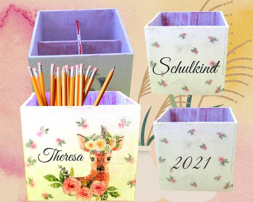 Stiftebox Rosenreh  Theresa Schulkind 2021