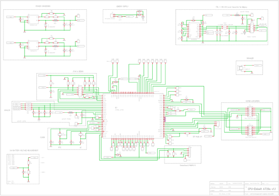 CPU Schaltplan