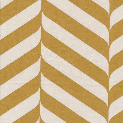 besch. Baumwolle Au Maison - Design: Henri - Farbe: mustard