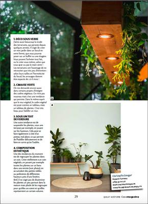 Case Magazine, les idées déco de Christelle Sauger - Agence Tohana