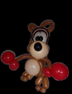 Kangourou sculpture ballon