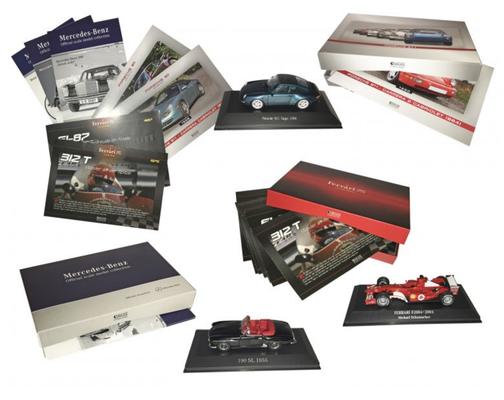 Porsche-, Ferrari- und Mercedes-Collection, 2015–2017 (Éditions Atlas)