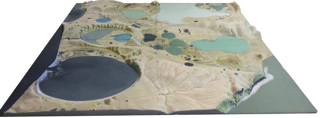 3D-Druck Topographiemodell