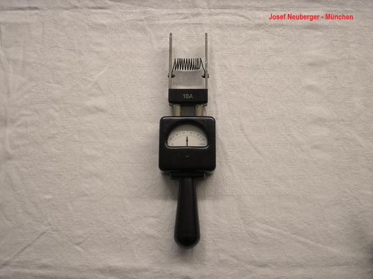 Bild 468 - Josef Neuberger - München - Batterie Zellenprüfer bis 100,0 Ampere - Fertigungsjahr ca. 1948