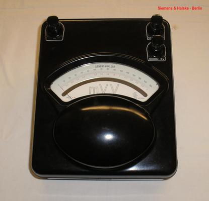 Bild 459 - Siemens & Halske - Berlin - Zehnohm Instrument für Gleichstrom - Fertigungsjahr  1960