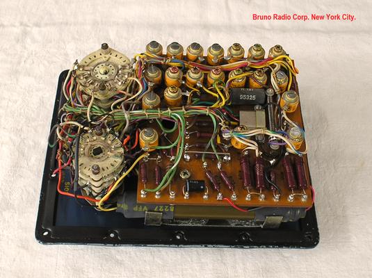 Bild 511-1 - Bruno Radio Corp. New York City - Multimeter für die US - Marine gefertigt - Fertigungsjahr ca.  1960