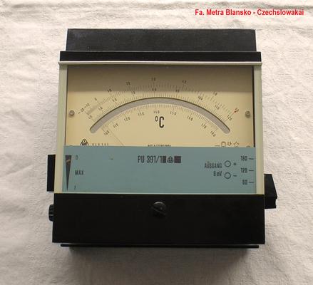 Bild 329 - Metra - Blansko - Czechslowakia - Präzisions Temperatur - Messgerät - Fertigungsjahr  1960