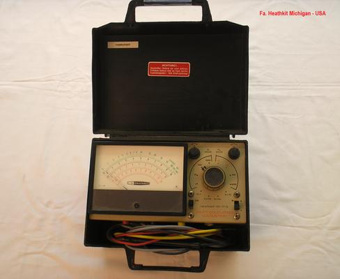 Bild 263 - Heathkit USA  Transistor - Voltmeter - IM 17 G.  Fertigungsjahr 1968
