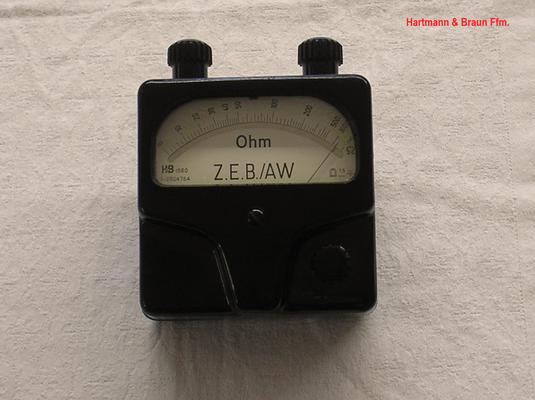 Bild 471 - Hartmann & Braun Ffm. - Zündkreisprüfer Typ. ZEB / AW - Fertigungsjahr  1960