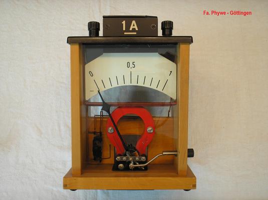 Bild 519 - Fa. Phywe - Göttingen - Schüler Messgerät Typ. 7030 mit Modulen - Fertigungsjahr 1958