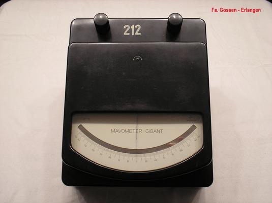 Bild 505 - Fa. Gossen - Erlangen - Labor Messgeräte Mavometer Gigant Typ. 1  mit Vor u. Nebenwiderstände - Fertigungsjahr ca. 1950