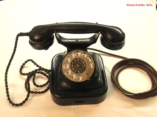 Bild 374-2 - Telefon W 28 Modell 26 - Fa. Siemens & Halske Berlin - Fertigungsjahr 1928