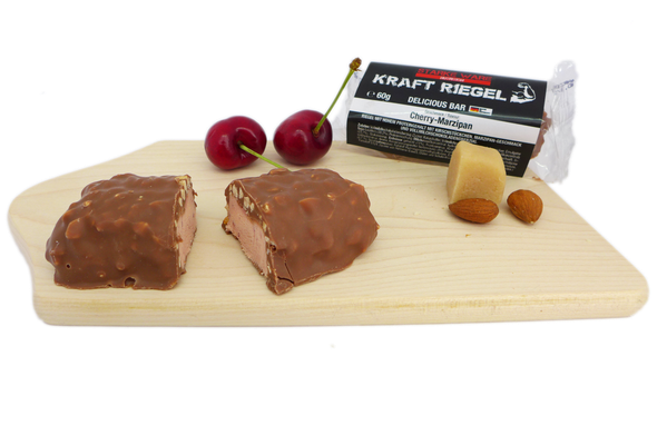 KraftRiegel Delicious Bar mit Geschmack Cherry-Marzipan