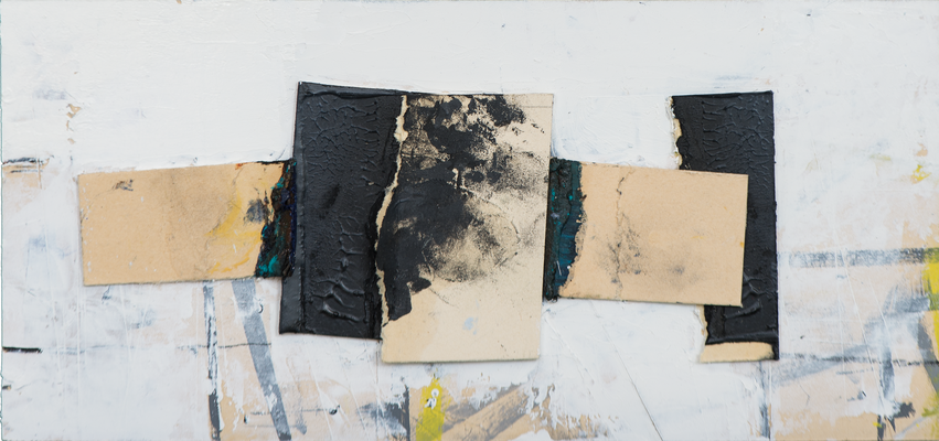 UE 252, ohne Jahr, Collage, 12,6 c 26,7cm