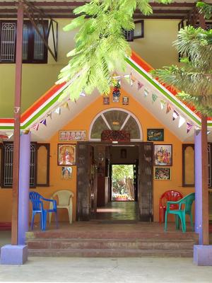 Main Building - Aum Pranava - Entrance