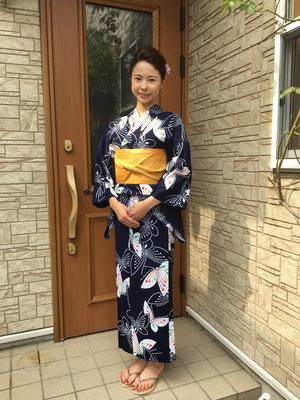 2017.8 浴衣で花火大会