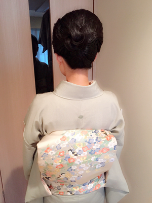 2016.9 江戸小紋でお宮参り