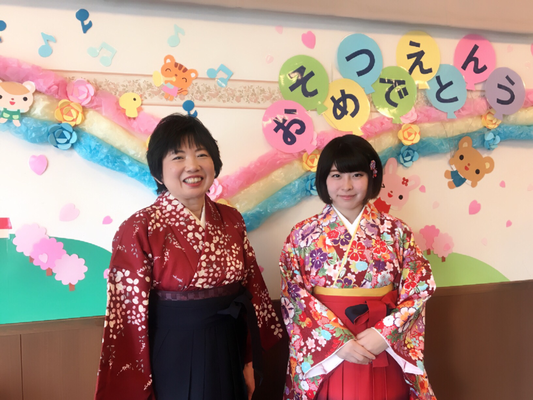 2018.3 卒園式~先生たちの装い