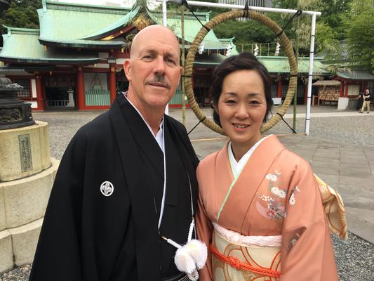 2017.6 新郎新婦~ハワイに嫁ぐ友人と新郎様