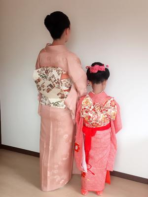 2016.10 七五三のお嬢様とお母様