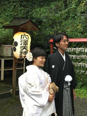 2017.10 神前結婚式