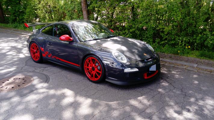 Porsche GT3 RS Endtopf geschweißt