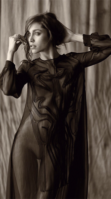Ludovica Frasca (Striscia La Notizia)by ph.Settimio Benedusi styled by Paolo Lattuada
