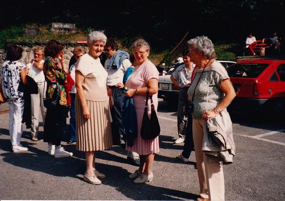 Reise nach Bex-Montreux-Blonay 1987