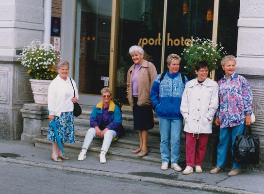 Reise nach St. Moritz 1992