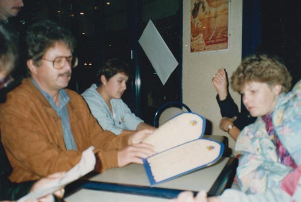 Reise nach Bex 1987