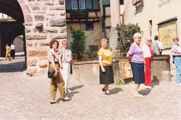 Reise ins Elsass 1990